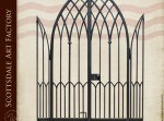 Wrought Iron Arch Gate Gothic Style - 7300WI