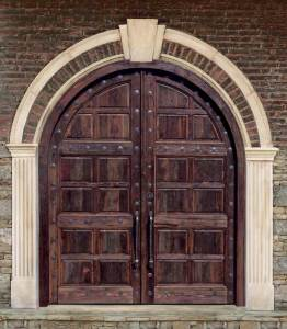 Arched Doors - Entrance Doors 13th Cen Italy - 4453AT
