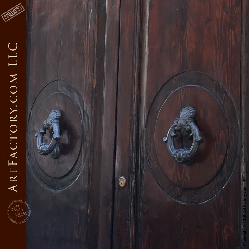 Doppia Tondo - Rome Collection - Custom Exterior Door - HRD888