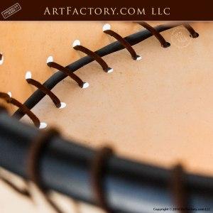 Circular Rawhide Custom Ceiling Lighting
