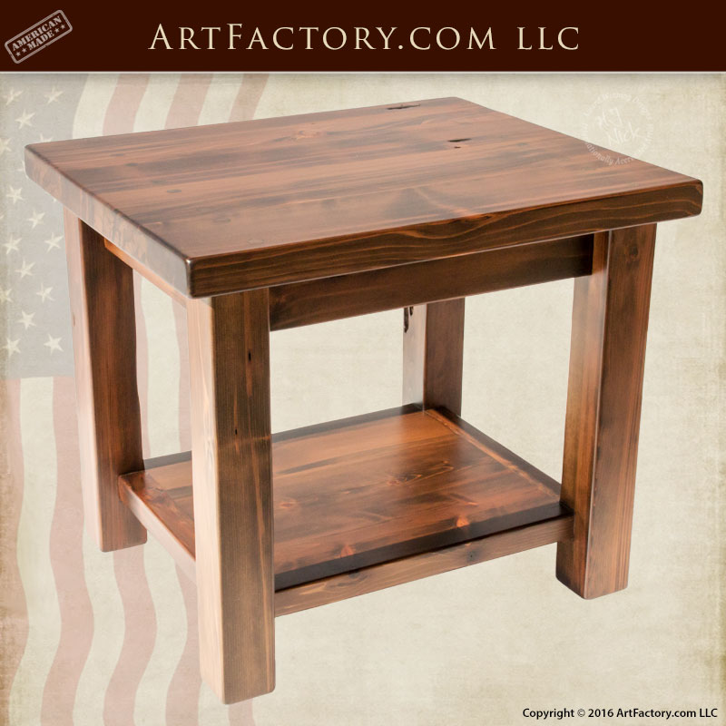 Awesome Plain And Simple Solid Wood Table, Custom Furniture   ETPS700