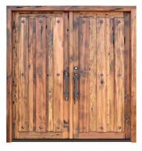 Planked Doors - Castle of Beersel 12th Cen Belgium - 2997ST