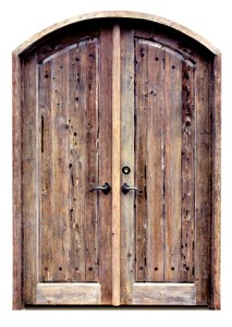 Doors - Roncolo Castle Style 13th Cen Italy  - 3006AT