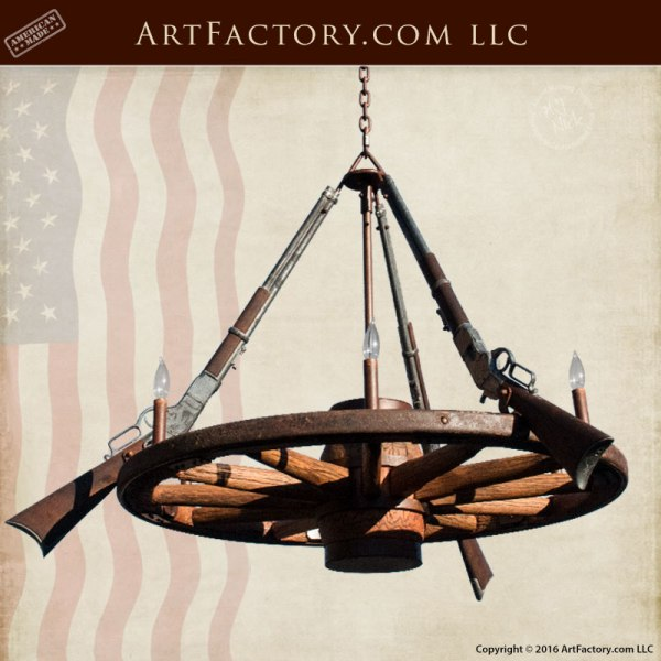 Wrought iron chandeliers western rustic lighting scottsdale art antique wagon wheel wrought iron chandeliers wwc555 mozeypictures Image collections