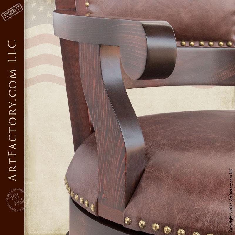 log cabin kitchen cabinets hanging lights for custom leather bar stools - wooden swivel stool furniture