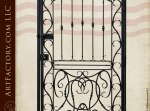 Custom Iron Harvard University Gate Designs - 1341IGA