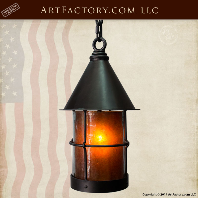 Medieval Lantern Custom Iron Lighting - LP716