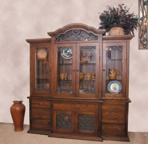 Display Cabinet - Dining Display Hutch - CFT228A
