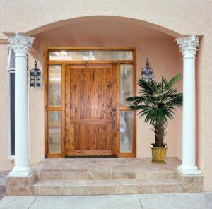 Door - Castle Eltz Manor Style 18th Cen Croatia - 1390RG