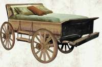 Wagon Bed - Antique Western Wagon Beds