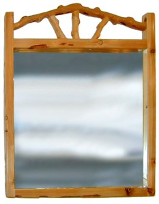 Lodge Style Mirror - Design From The Historical Record - MLM901