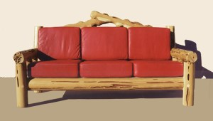 Sofa Hand Carved- By American Master Craftsamn -  MLS551A