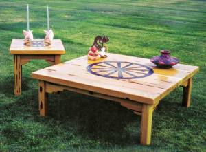 Coffee Table - Designed From The Historical Record -  MLET554