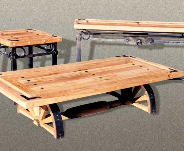 Coffee Table - Designed From Old Western America -  CBLT674