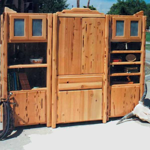 Entertainment Center - Arts & Crafts - Greene & Greee - SWEC101A