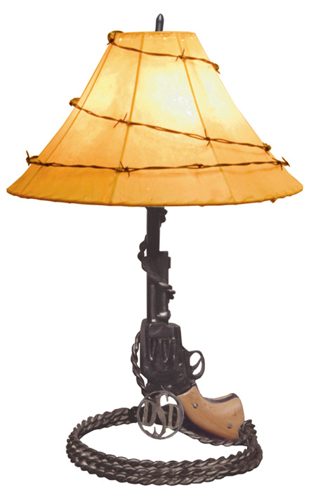 Table lamp colt 45 real western american made lamps fine art table lamp colt 45 western table lamp lt611 aloadofball Images