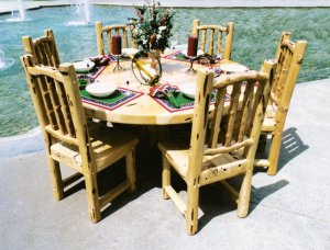 Dining Table - Cabin Dining Table - MLT500