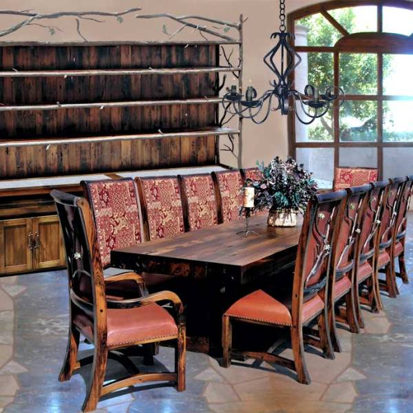 Dining Tables | Lodge Dining Room Sets | Castle Dining Room Tables ...