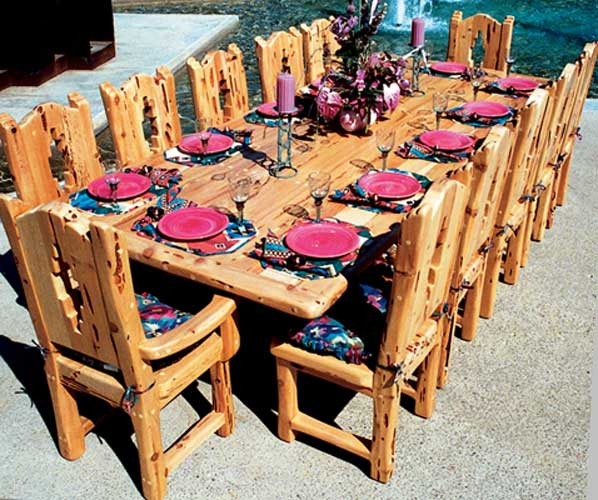 Dining Table   Southwestern Dining Table   SWT120 ...