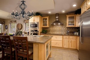 Kitchen Cabinets/ Granite Counters Simple Living KIT1985