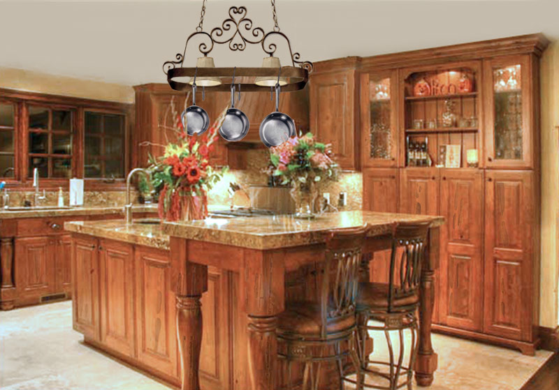 ... Old World Style Kitchen With Todays Technology KIT8978