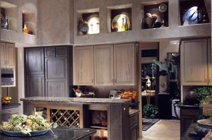 Kitchen Cabinets Genuine Granite Wine Rack  KIT2200