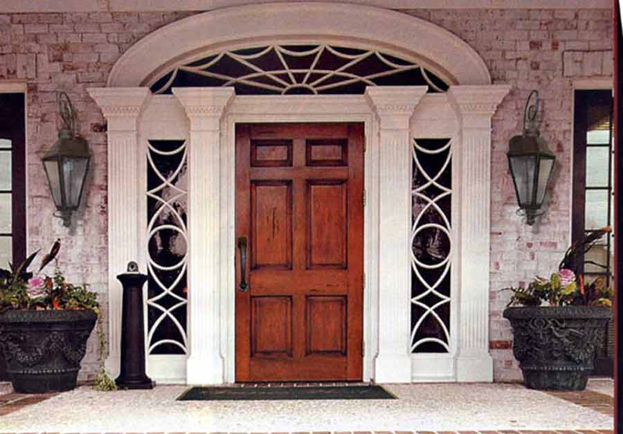 ... Spider Doors Custom - Castle of Seneffe Style Belgium - CH4096 & French Historical Doors   Spider Web Transom Doors   French Entry Doors