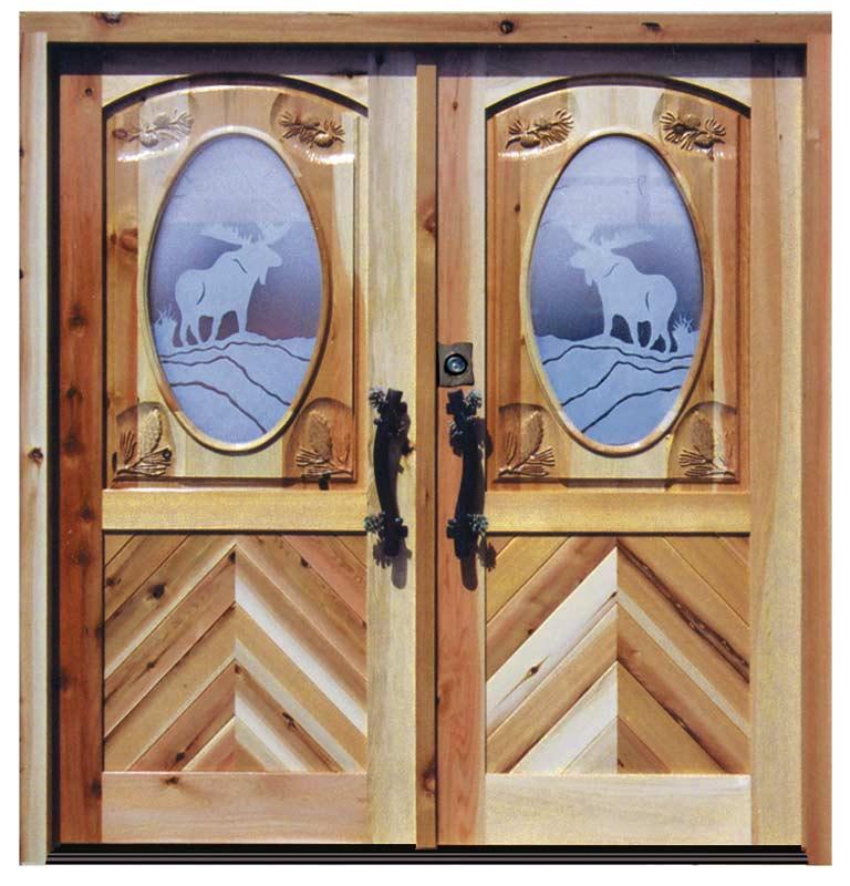 Entry Doors - Jagdschloss Glienicke German 18th Cen - 5382GP