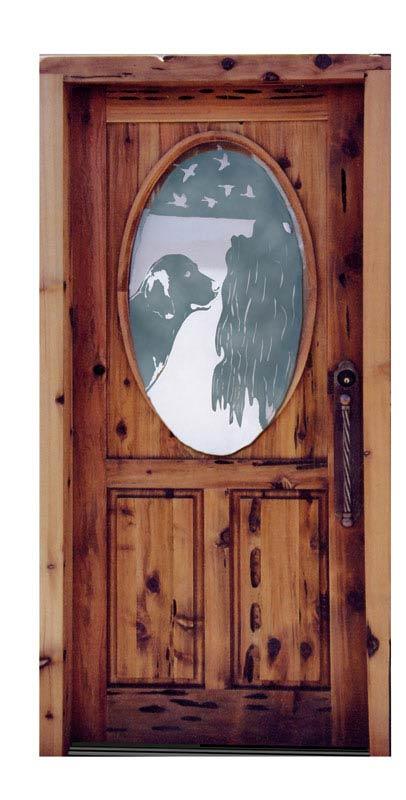 Entry Doors - Jagdschloss Glienicke German 18th Cen - 5384GP