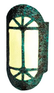 Hand Smithed Solid Copper Lighting Wall Sconce - LS063