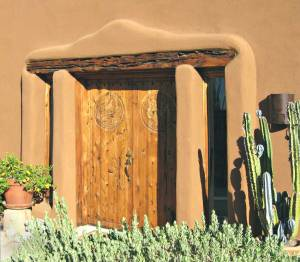 Double Entry Doors - Reflecting The Natural Desert - 3022HC