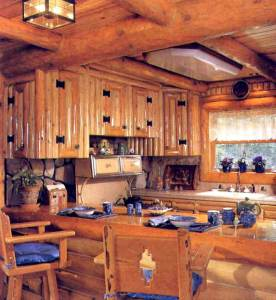 Custom Kitchen Cabinets - Cabin Cabinets - CH2055