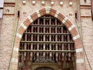 Drop Gate - Bojnice Castle 12th Cen Slovakia - 1218IGT