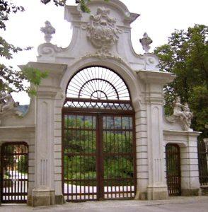 Entrance Gate - 14th Cen Ammersoyen Castle Netherland - 1232WIT