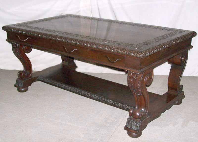 ... Partners Desk   Antique Writing Table Designs   ODD400