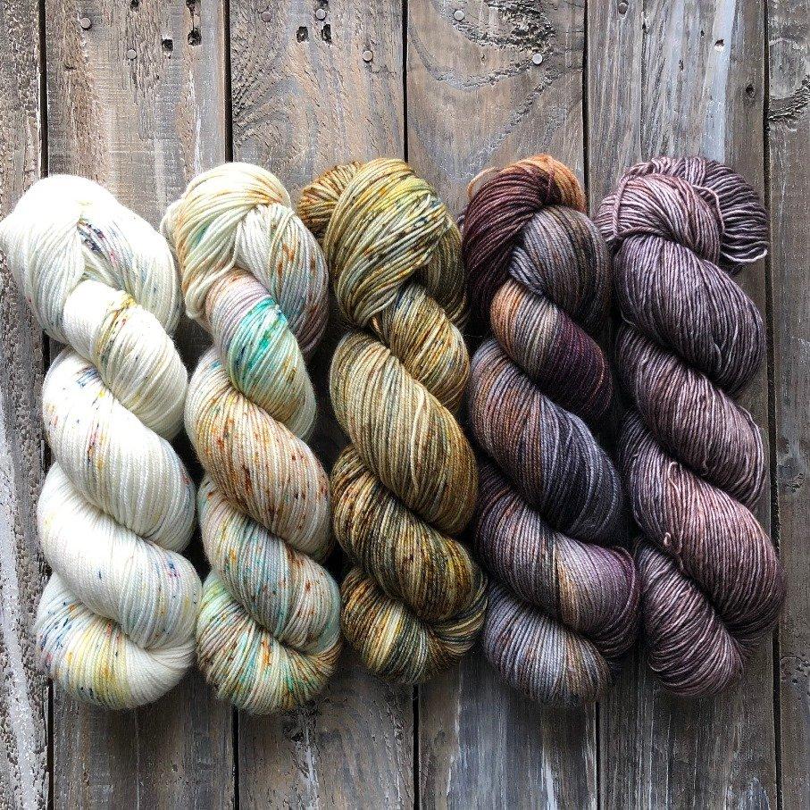Fading Yarn Set – Cat's Eye