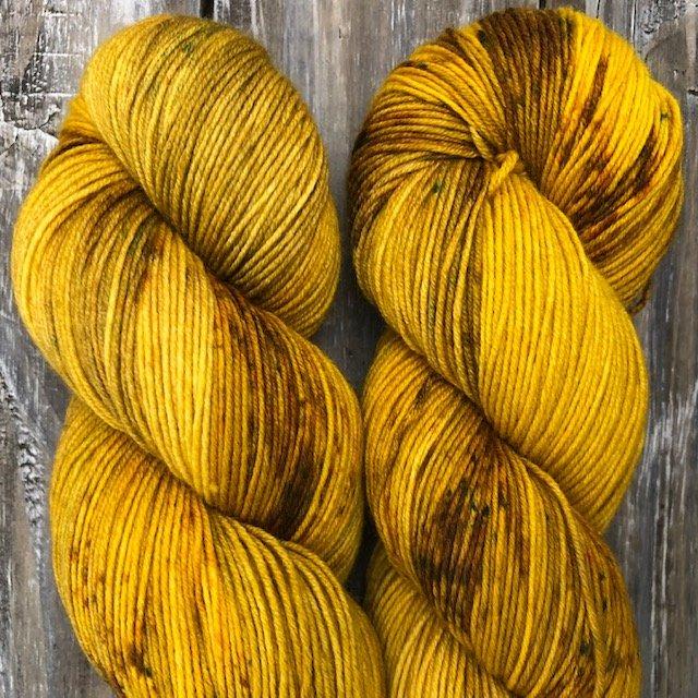 Day 8 – 100% Merino -Yellow Crocuses
