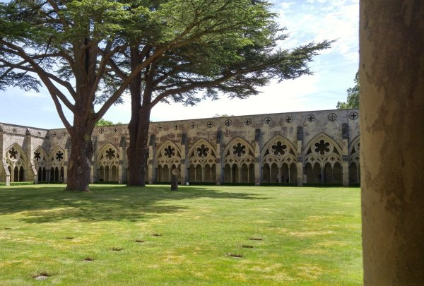 Day 72-Day Cathedral courtyard – Salisbury, England – Sarah Ingold