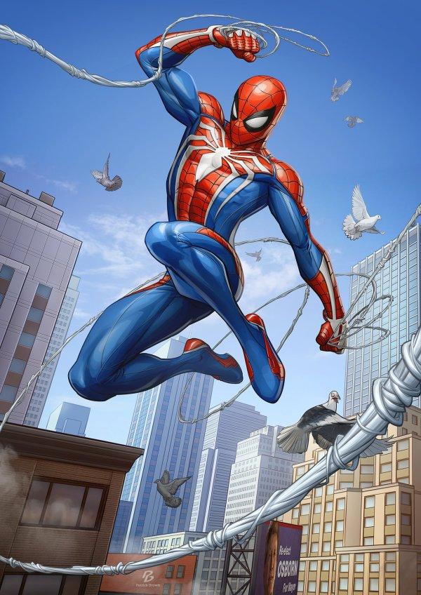 Spider-Man Fan Art PS4