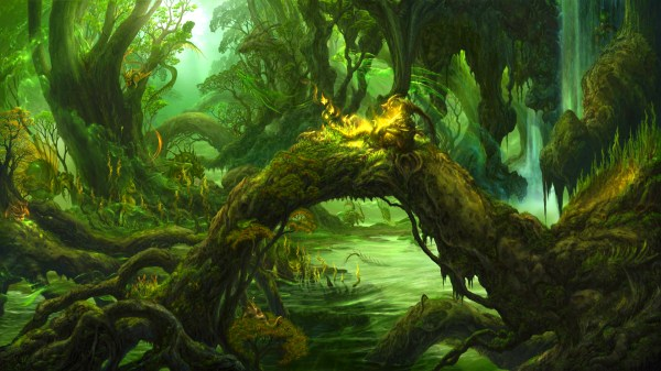 Swamp Life Art - Id 26900 Abyss