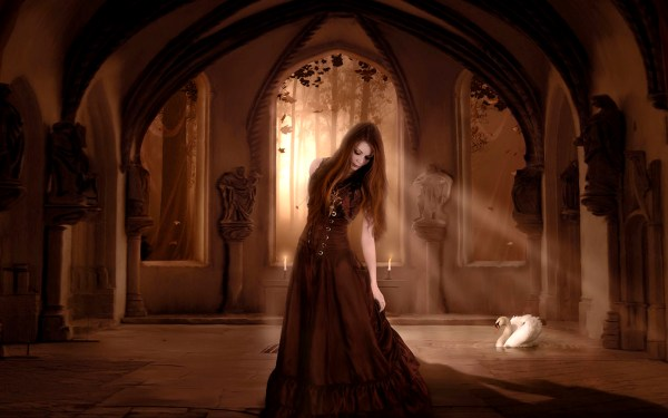 Gothic Light Art - Id 28189 Abyss