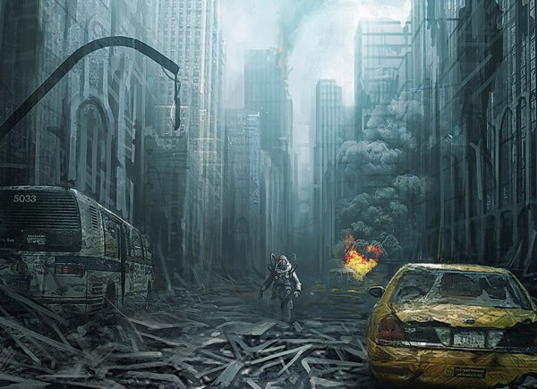 Post Apocalyptic Art - Id 38372