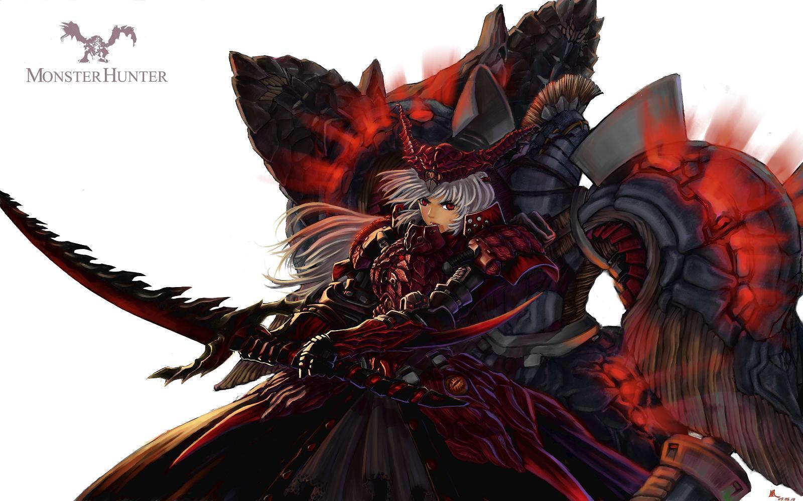 Hellhound Monster Girl Wallpaper Monster Hunter Art Id 42668 Art Abyss