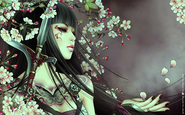 Japanese Art Anime Girl