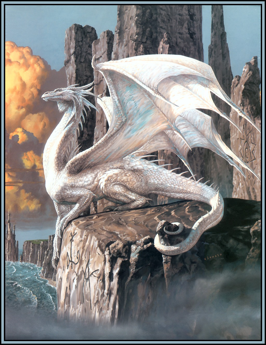 Hobsyllwin the White Guardian Art  ID 6327  Art Abyss
