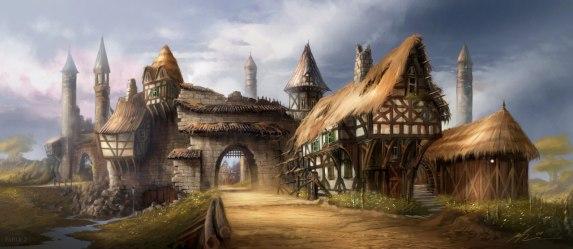 village fantasy arts
