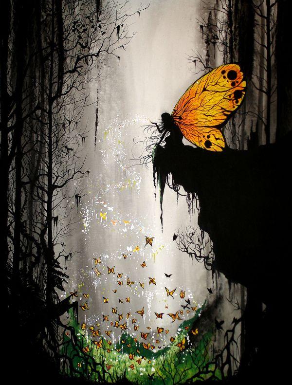 Butterfly Fairy Art - Id 7085