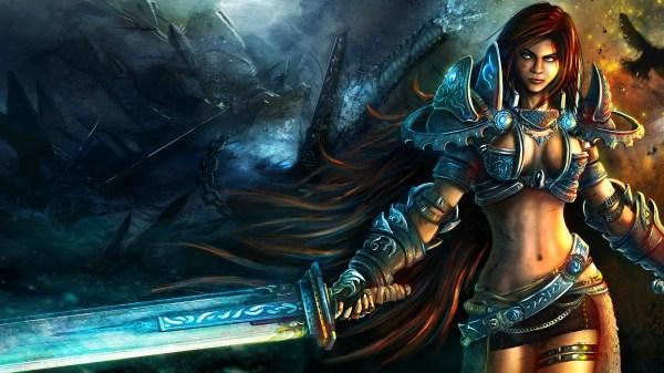 Women Warrior Art - Id 88089 Abyss