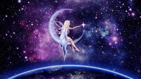 Moon Fairy Art - Id 91565 Abyss