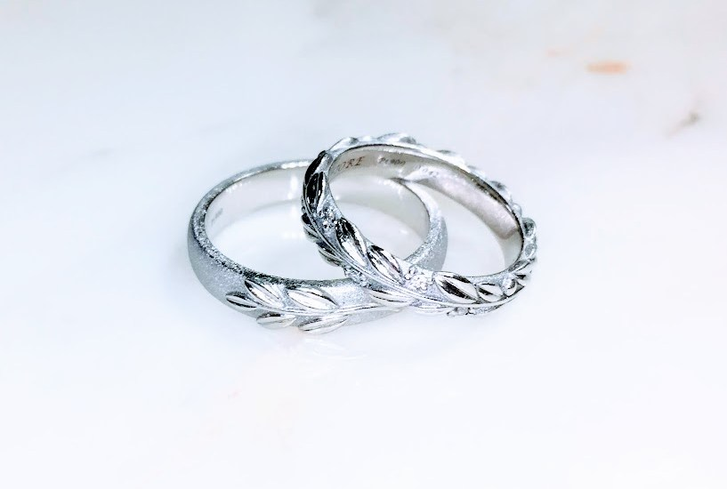 Laurier Marriage rings